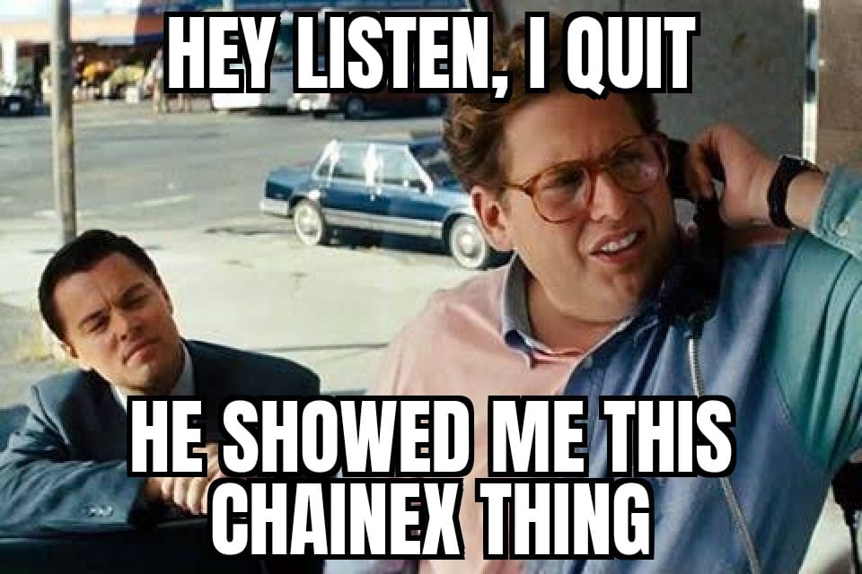 Trade on ChainEX