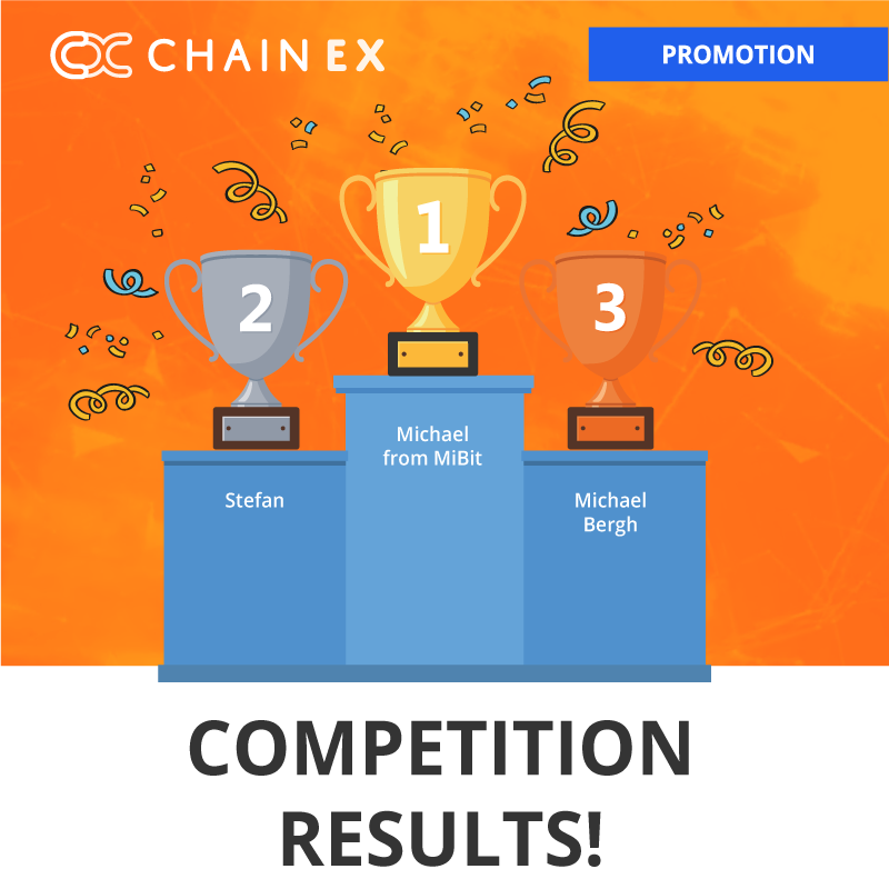 ChainEX Competition Comes to an End