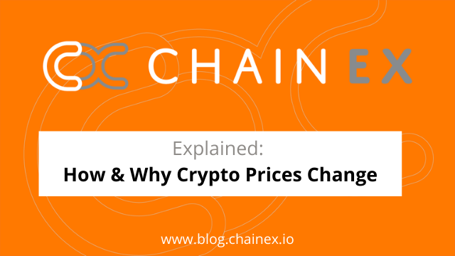 Explained: How & why crypto prices change