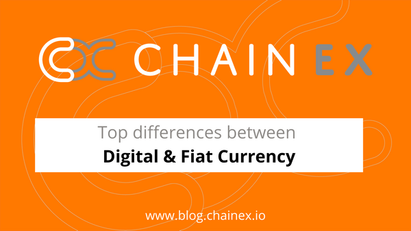 Top Differences Between Digital & Fiat Currency