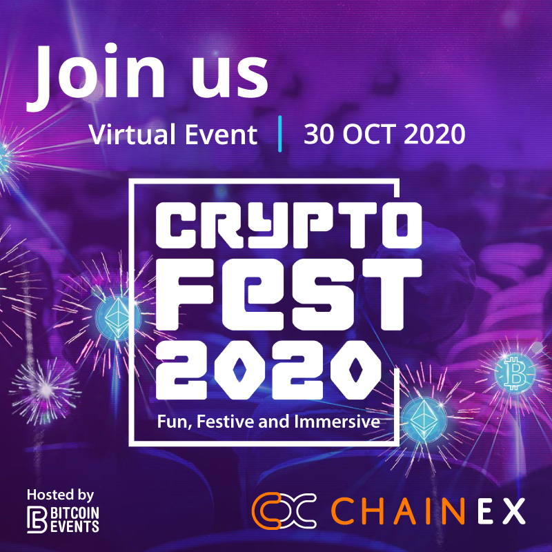 Cryptofest2020: Learn about crypto and ChainEX!