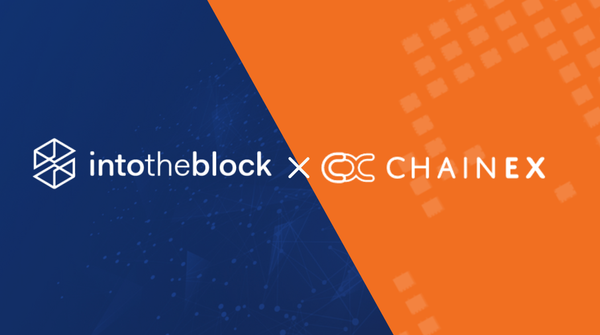 Data and Onchain Analytics: ChainEX meets IntoTheBlock!